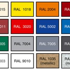 d4a05f5c62cf На сегодня таблица RAL насчитывает 213 цветов, 17 из которых – металлики.