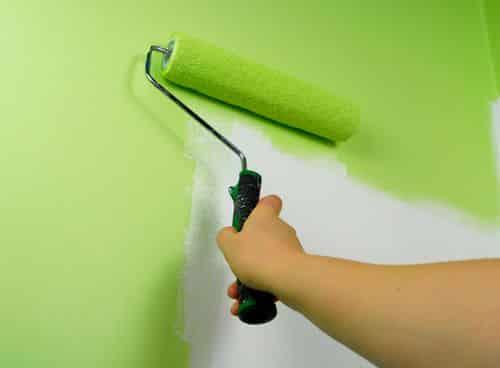 Краска для стен на обои под покраску
