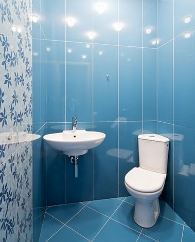 Poziomy I Pionowy Układ Płytek W łazience Przygotowanie