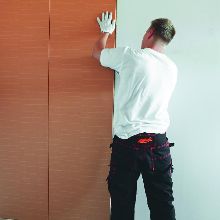 как установить стеновые панели фото приступить выполнению