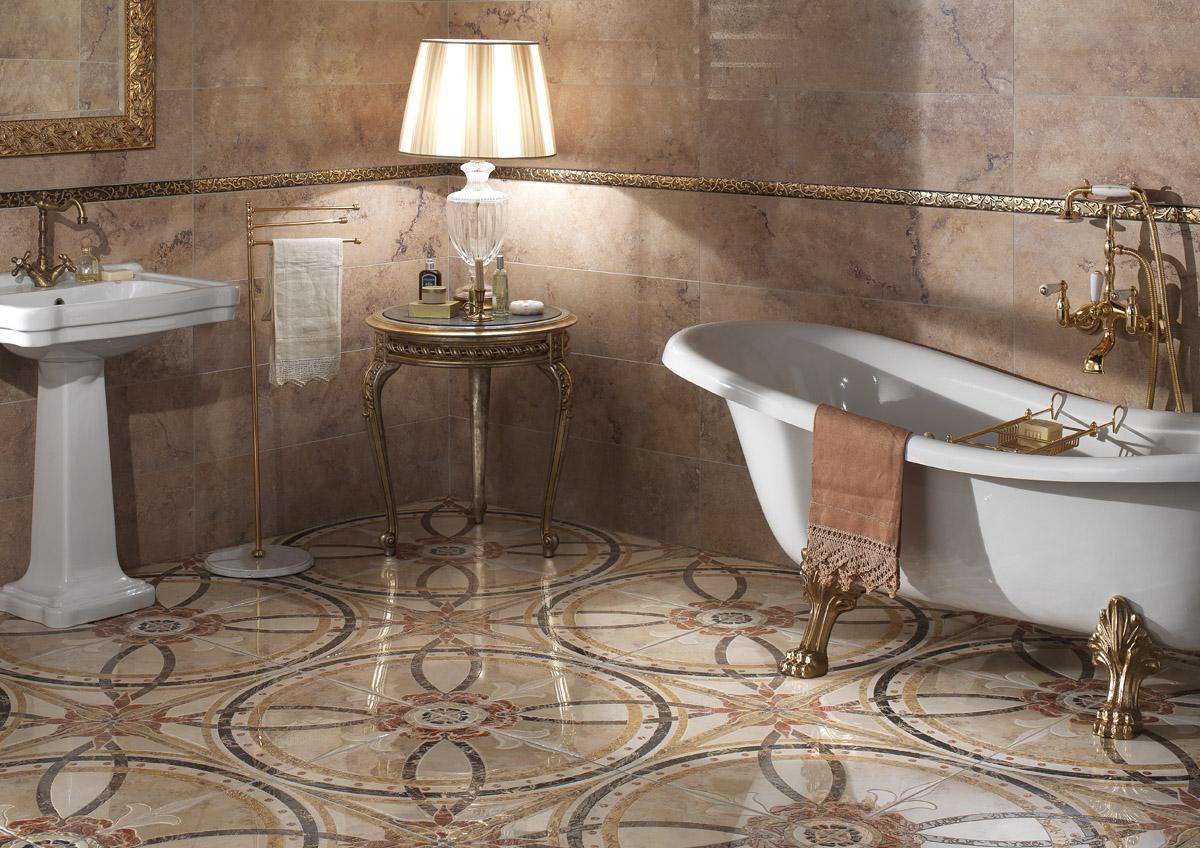 Come scegliere una tessera per un bagno. quale piastrella è meglio